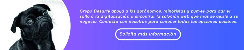 Grupo Desarte te ofrece páginas webs profesionales y económicas